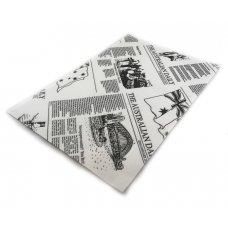 Greaseproof Paper Newsprint 28gsm 1/4Cut 200x300mm Ream 200