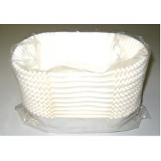 Rectangle Pan Liners White #R13 (160 x 75 x 55mm) P200