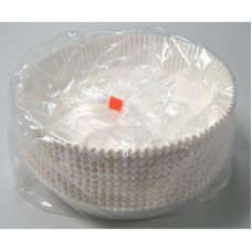 Round Pan Liners White #M11 (165 x 37.5mm) Pack 200