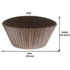 Muffin BROWN #700 (55 x 36mm) Pack 500