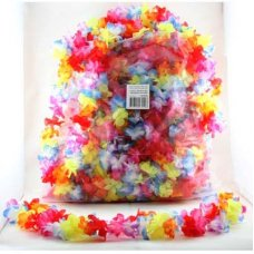Leis Floral Assorted Colours Bag 50