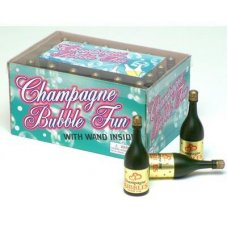 Champagne Bottle Bubbles Box 24