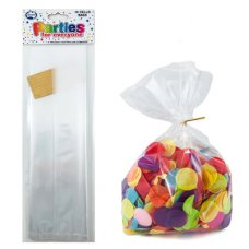 Cello Bags Clear with Twist ties P10
