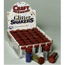 Glitter Shakers Assorted Box 30
