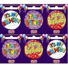Its My Birthday (SBHB) Badge 6 pcs