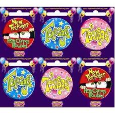 Teenager (SBTN) Badge 6 pcs