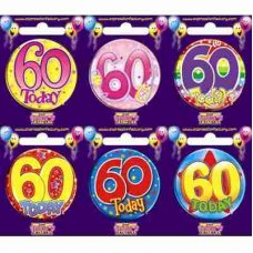 Age #60 (SB060) Badge 6 pcs