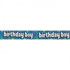 Birthday Boy (QA249) 2.6m Banner P1