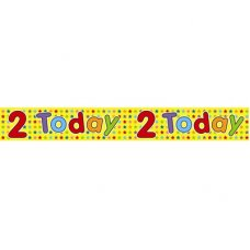 2 Today (QA147) 2.6m Banner P1
