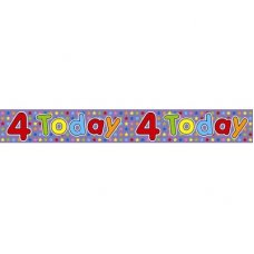 4 Today (QA149) 2.6m Banner P1