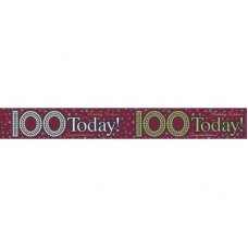 100 Today (QAH048U) 2.6m Banner P1