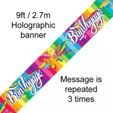 Bon Voyage Banner 2.7m P1