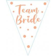 Team Bride Flag Bunting 3.9m P1