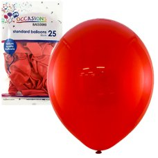Red 30cm Balloons P25