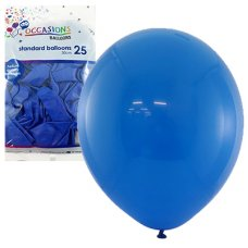 Royal Blue 30cm Balloons P25