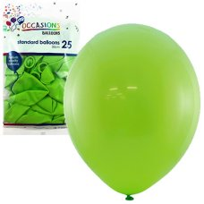 Lime 30cm Balloons P25