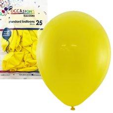 Yellow 30cm Balloons P25