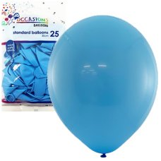 Light Blue 30cm Balloons P25