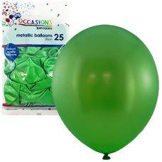 Metallic Lime 30cm Balloons P25