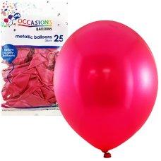 Metallic Fuchsia 30cm Balloons P25