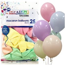 Macaron Assorted Colours 30cm Balloons P25