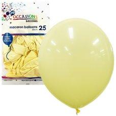 Macaron Lemon 30cm Balloons P25