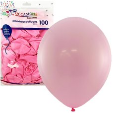 Light Pink 30cm Balloons Bag 100