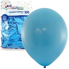 Light Blue 30cm Balloons Bag 100