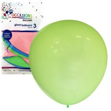 Giant Balloons 90cm Inflated Assorted Colours P3