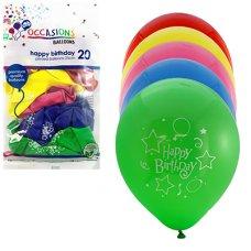 Printed Happy Birthday 25cm P30