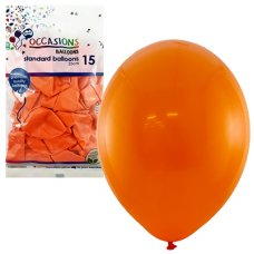 Orange 25cm Balloons P15