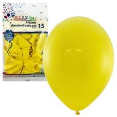 Yellow 25cm Balloons P15