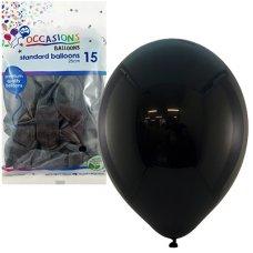 Black 25cm Balloons P15