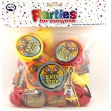 SPECIAL! Music Party Favours 6 Asstd Toys P24