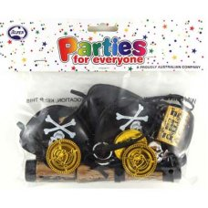 Pirate Party Favours 6 Asstd Toys P24