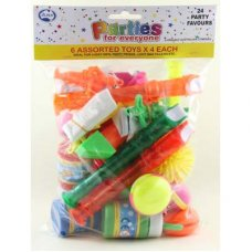 Party Favours 6 Asstd Toys P24