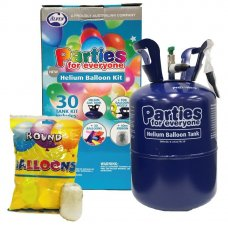 PFE Helium Balloon 30 Kit inc 30 Balloons & Ribbon 3 kits