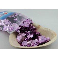 Confetti Metallic 1cm Lilac 250 grams
