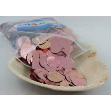 Confetti Metallic 2.3cm Rose Gold 250 grams