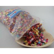 Confetti Tissue 1cm Bright Assorted 250 grams