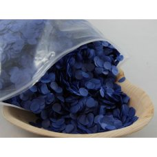 Confetti Tissue 1cm Royal Blue 250 grams