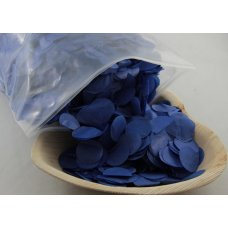 Confetti Tissue 2.3cm Royal Blue 250 grams