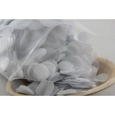 Confetti Tissue 2.3cm White 250 grams