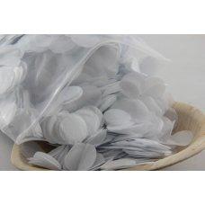 Confetti Tissue 2.3cm White 250 grams