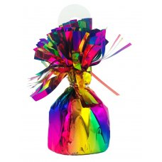 Rainbow Splash Balloon Weight 165gm Box6
