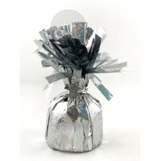 HOLOGRAPHIC Silver Balloon Weight 165gm Box6