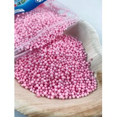 Confetti Balls 2-4mm Pastel Pink 9gm Bag
