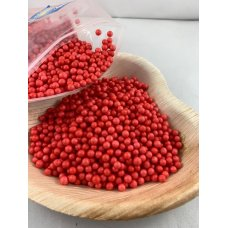 Confetti Balls 4-6mm Bright Red 9gm Bag
