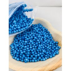 Confetti Balls 4-6mm Bright Blue 9gm Bag