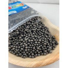 Confetti Balls 4-6mm Bright Black 9gm Bag